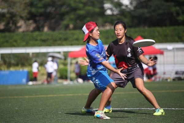 On the Ultimate Frisbee field, playing defense